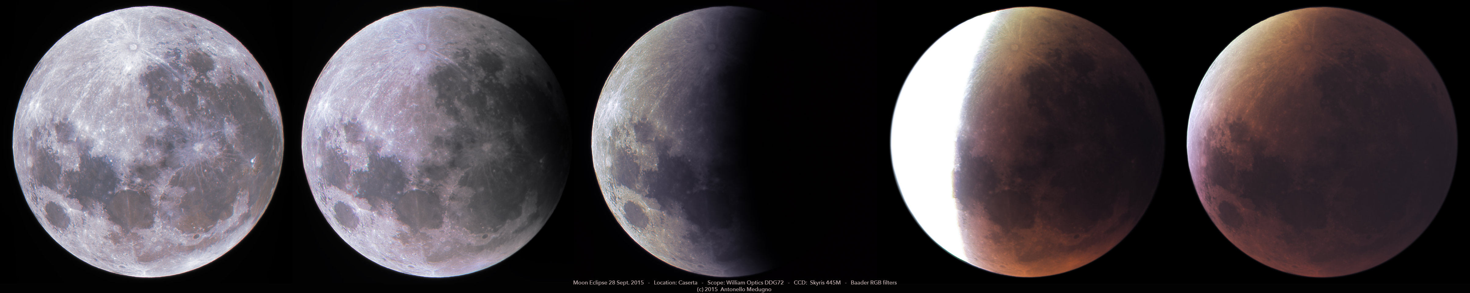 Eclissi di Luna alta risoluzione hires luna